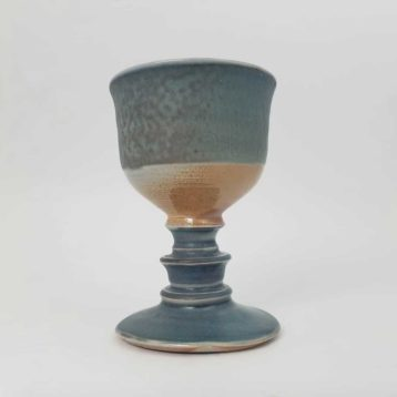 Blue & White Goblet Tall