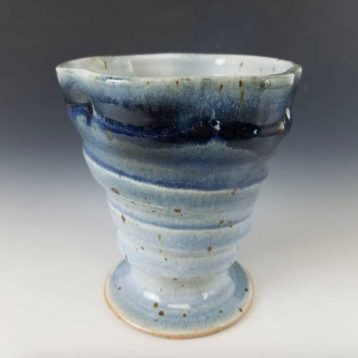 Blue Wave Goblet