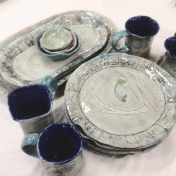 Blue Dishware